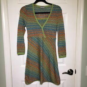 Missoni Sport Long Sleeve Knit Dress